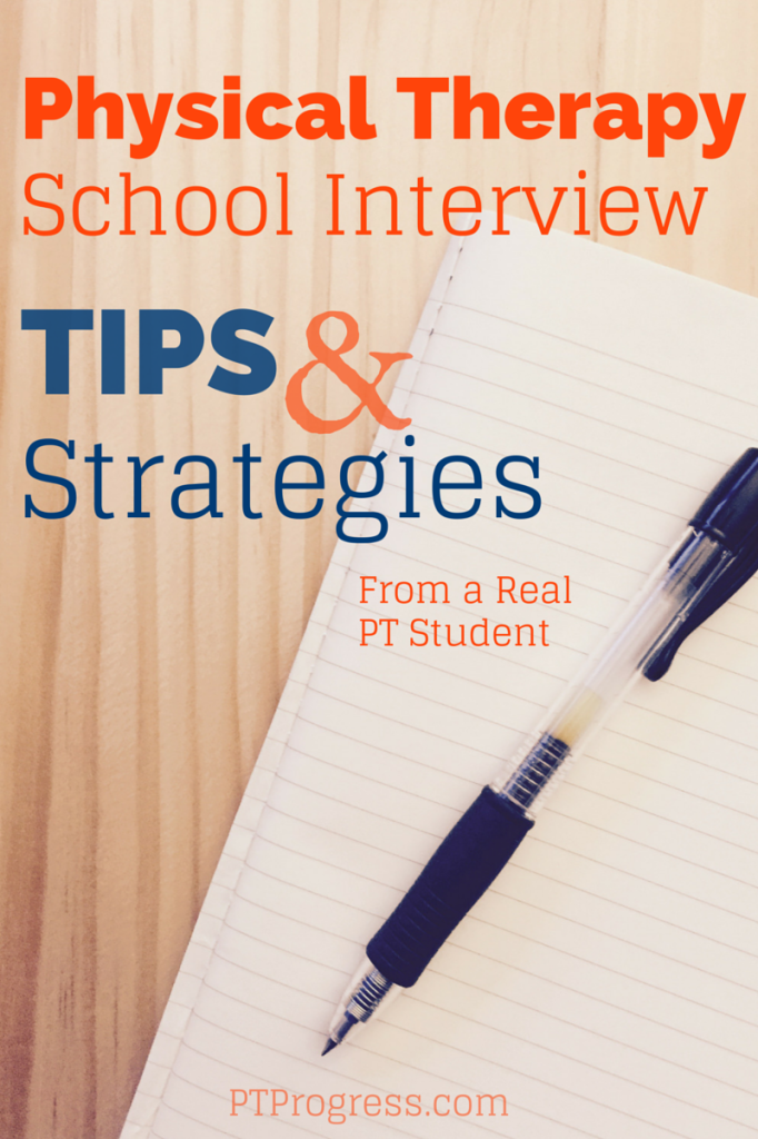 Physical Therapy School Interview Tips and Strategies