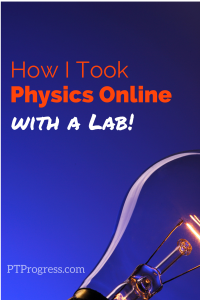 physics online with lab