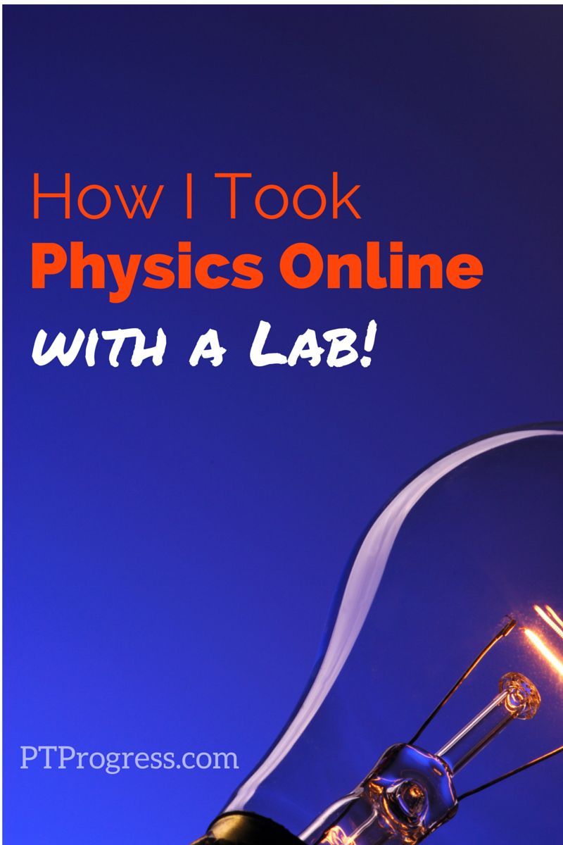 Medicine online physics course college credit