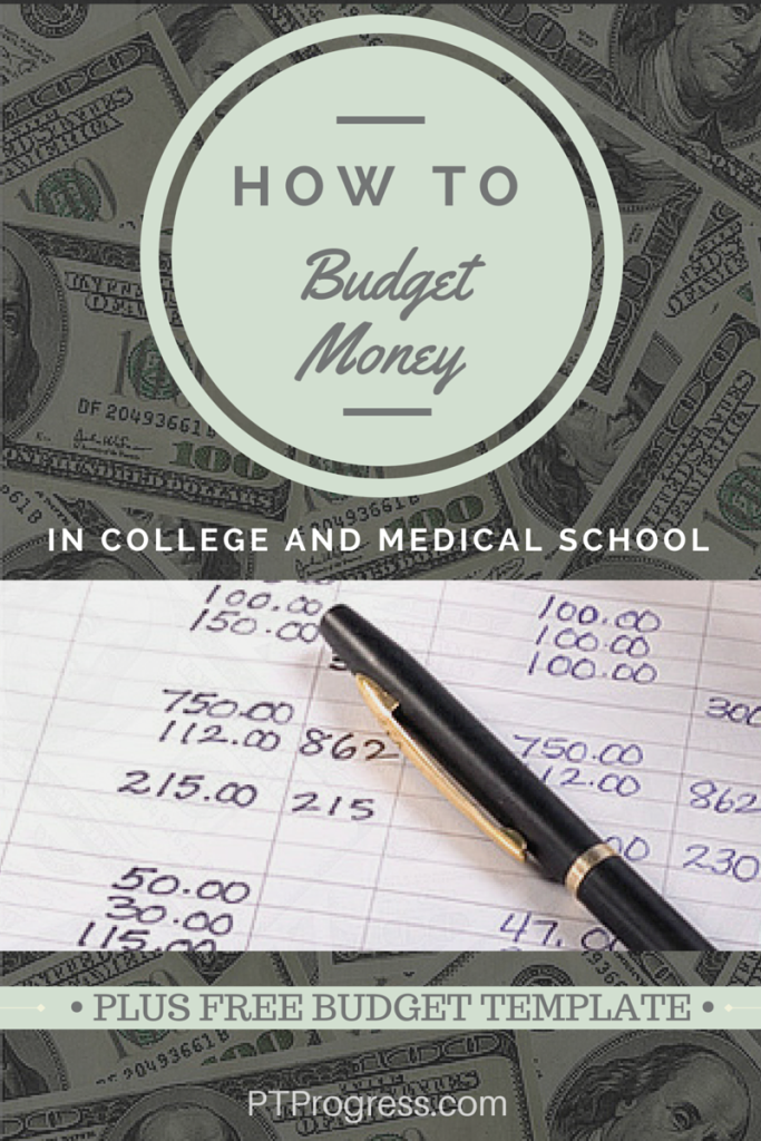 how to budget money in college