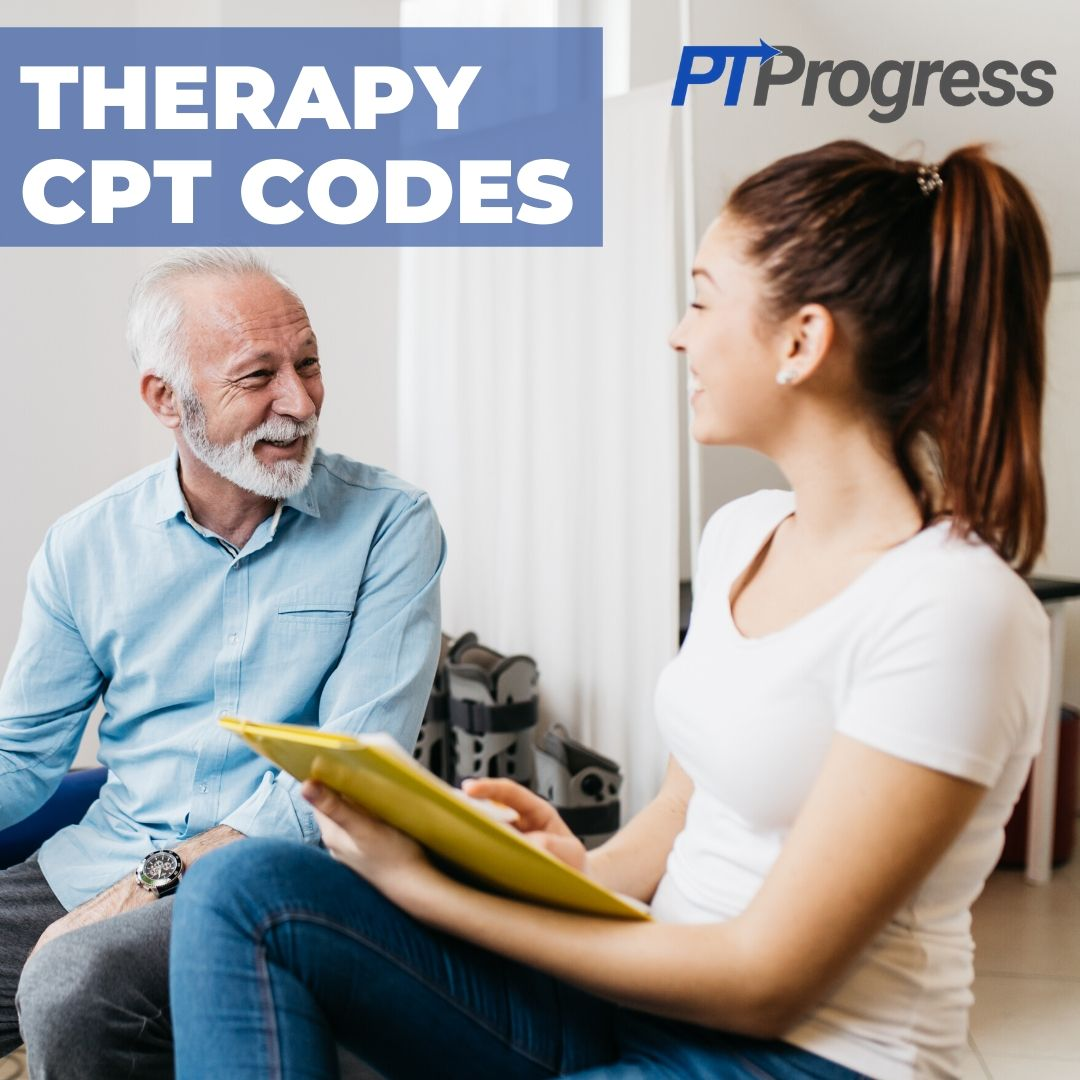 therapy cpt codes