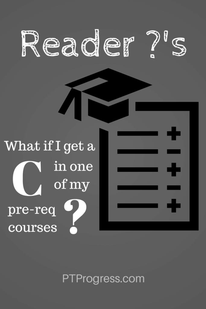 pre-req grades
