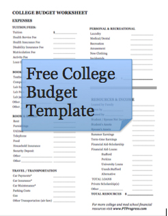How to Budget Money in College and Med School