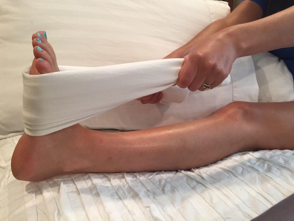 calf stretch plantar fasciitis