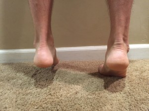 eccentric heel raise