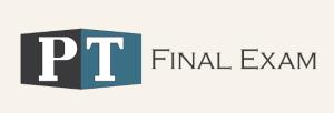 PT Final Exam Review