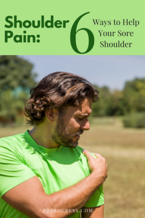 My Aching Shoulder! What Can You Do For a Sore Shoulder?