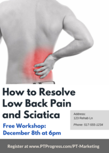 Physical Therapy Seminar Poster
