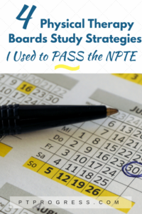 PT Boards: National Physical Therapy Examination Study Guide and Calendar
