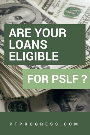 PSLF Eligible loans