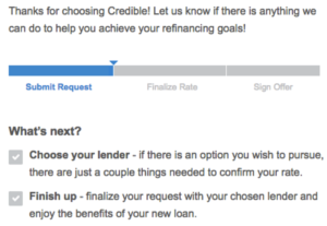 Credible Review from a Real User: Refinancing Through Credible