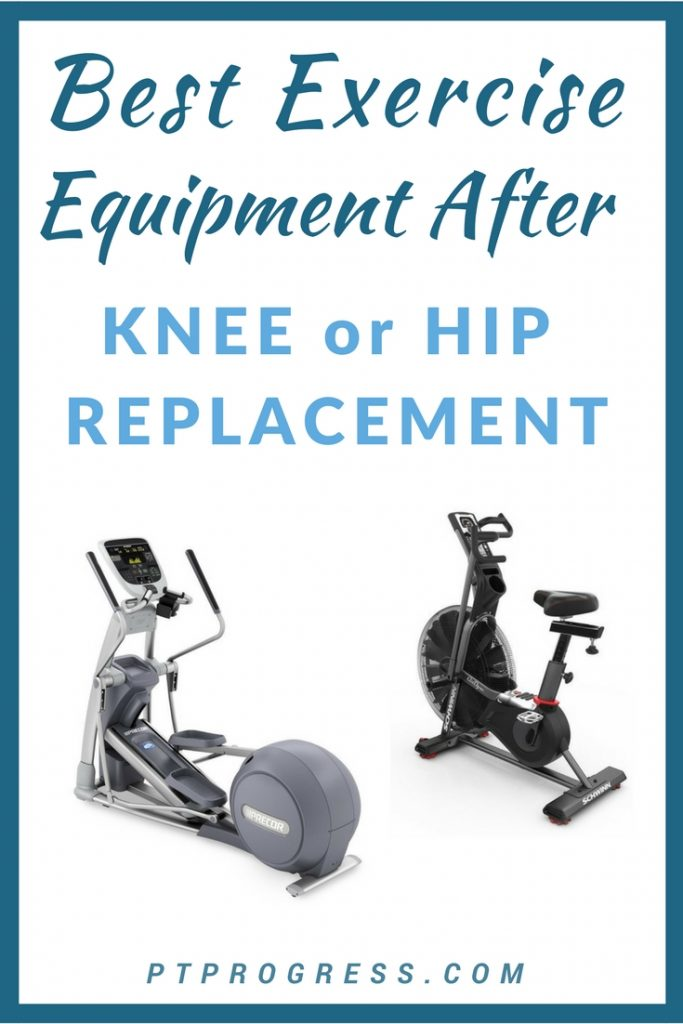 equipment after knee replacement