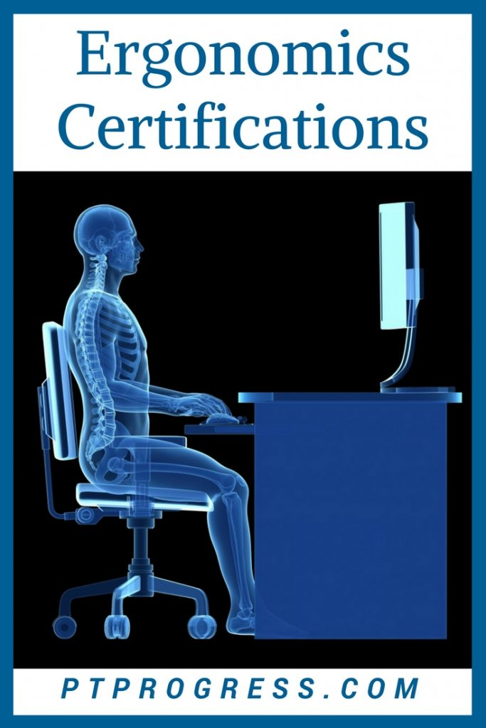 ergonomics certifications