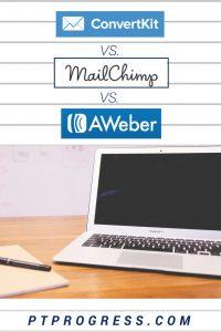 ConvertKit vs Mailchimp vs Aweber