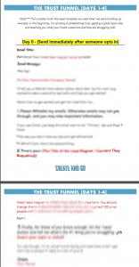 Create and Go email funnel