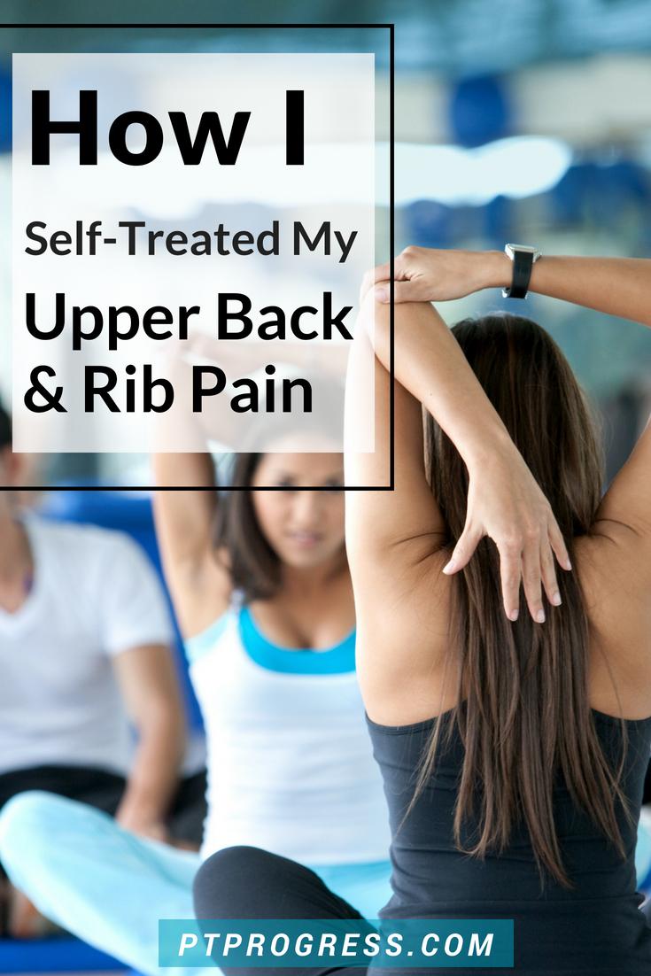 upper back and rib pain