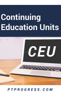 CEU – What is Continuing Education?