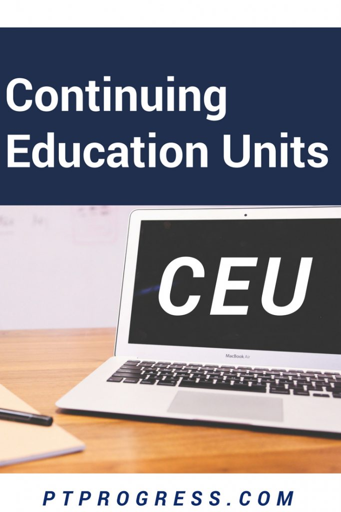 CEU continuing education unit