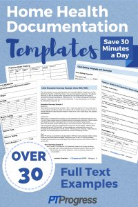 Home Health Documentation Templates