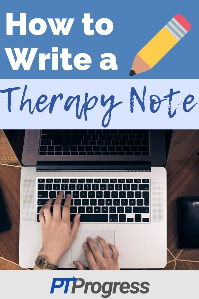 therapy daily note