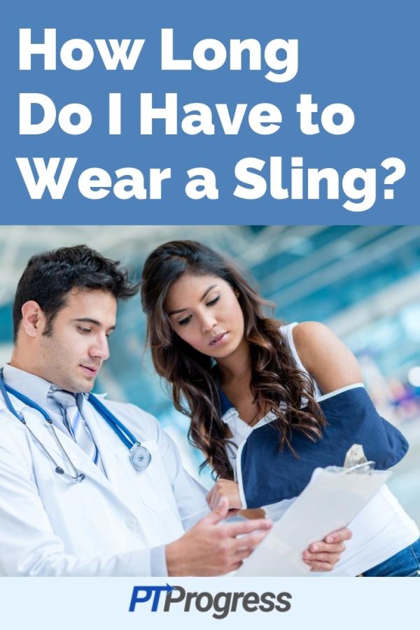 wear a sling