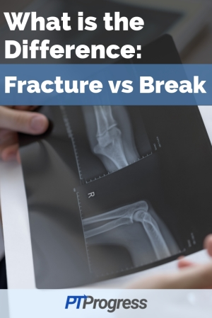 difference between fracture and break