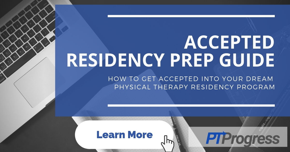 Physical Therapy Residency