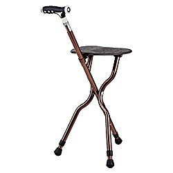 walking cane with seat