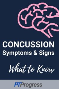 Concussion Symptoms and Signs of a Concussion
