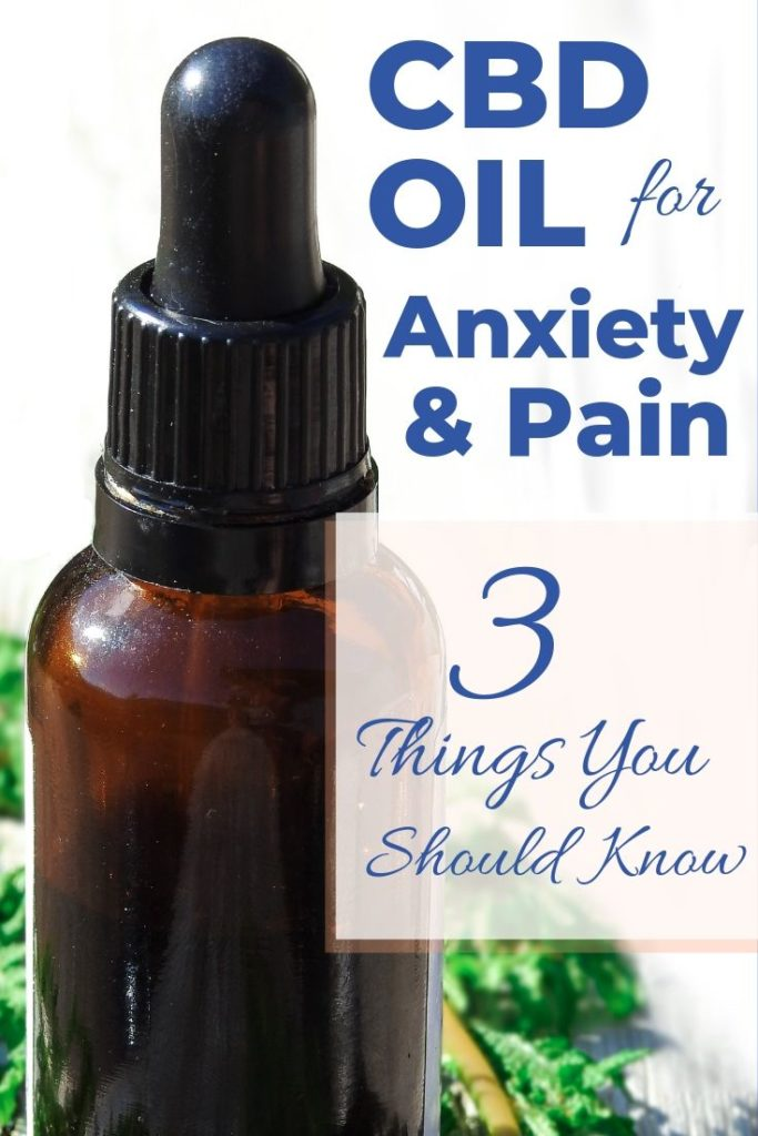 CBD Oil Pain Anxiety