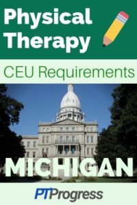 Michigan Physical Therapy Continuing Education Requirements