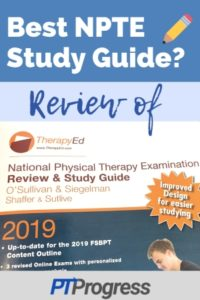 Review of TherapyEd Physical Therapy NPTE Guide