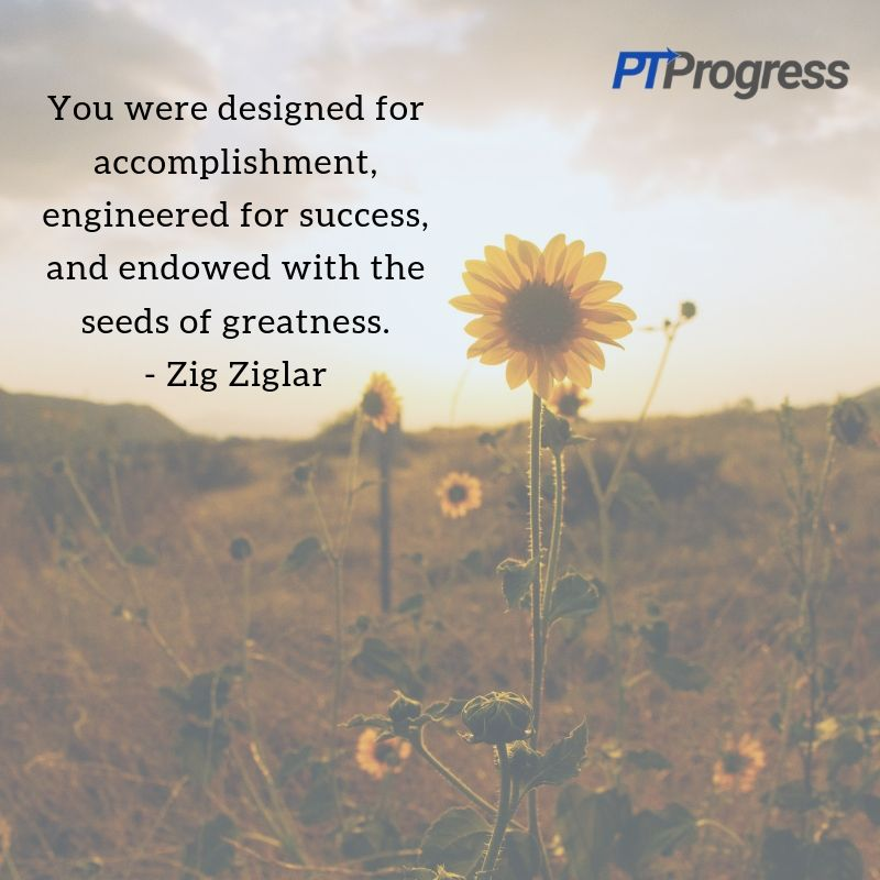 You were designed for accomplishment, engineered for success, and endowed with the seeds of greatness. - Zig Ziglarit's going to be over so I refuse to have a bad day.