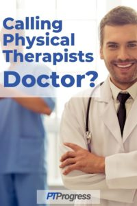 is a physical therapist a doctor