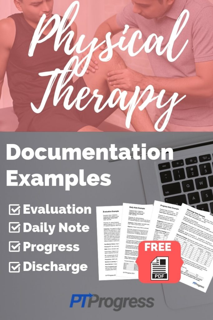 physical therapy documentation examples