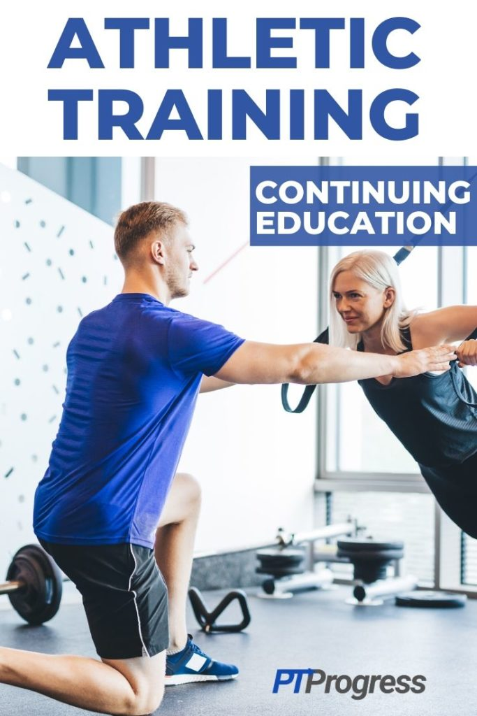 athletic training continuing education