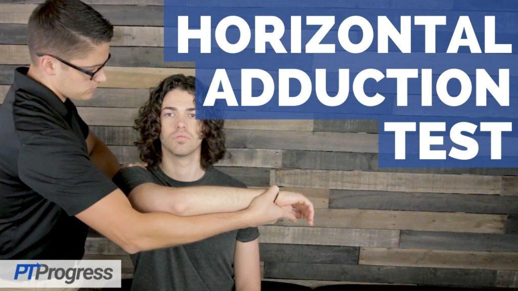 horizontal adduction test