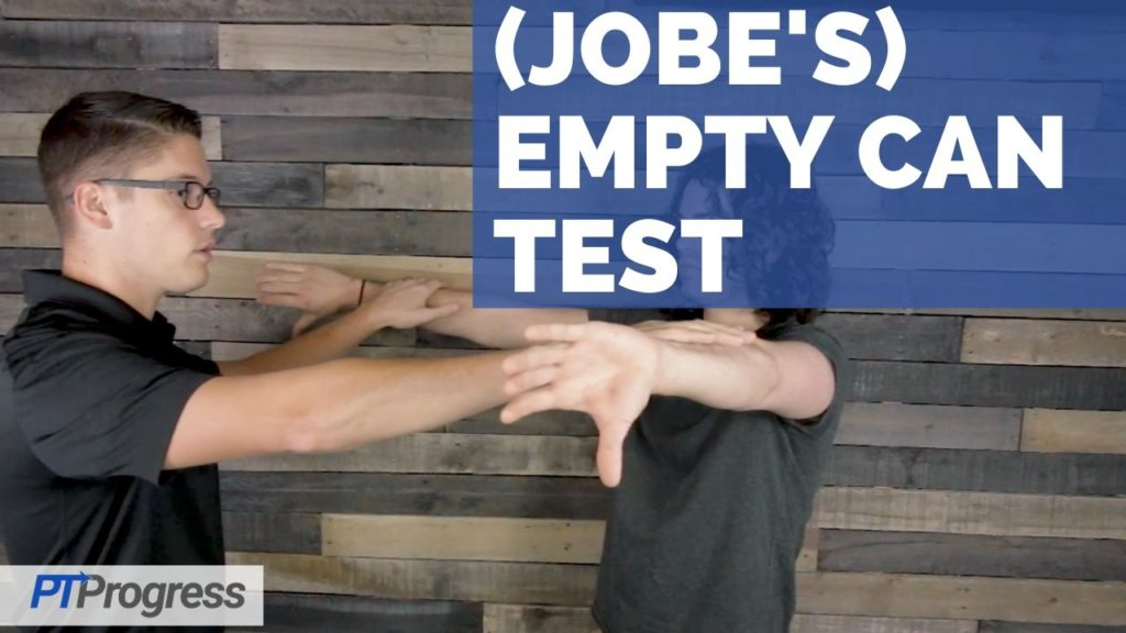 Jobe's Empty Can Test