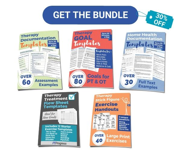 therapy documentation bundle