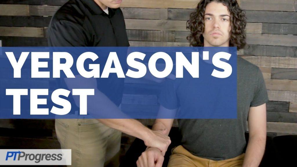 Yergason's Test