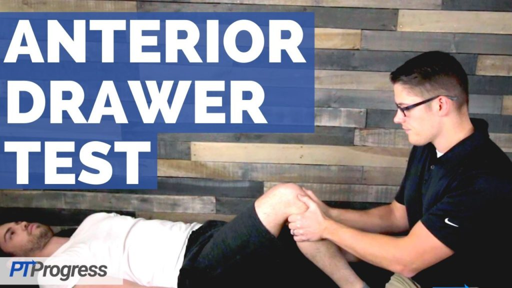 anterior drawer test ACL