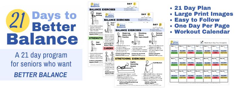balance exercise pdf