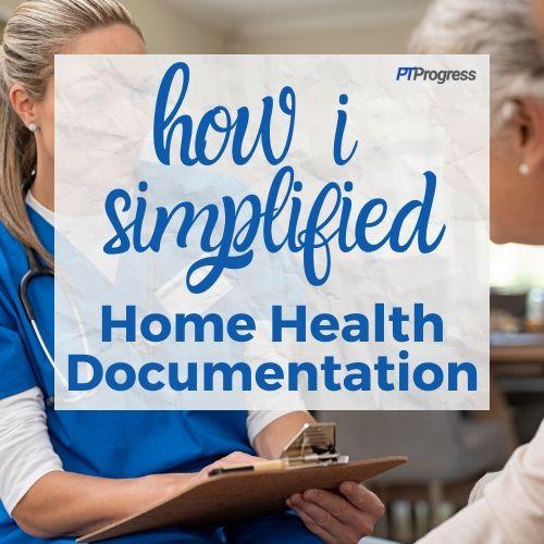 home health documentation templates