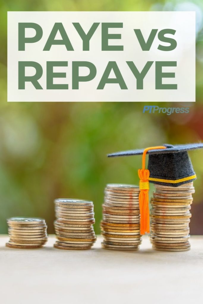 PAYE vs REPAYE