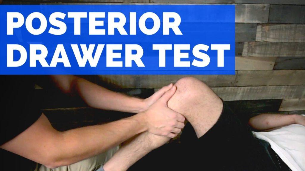 posterior drawer test