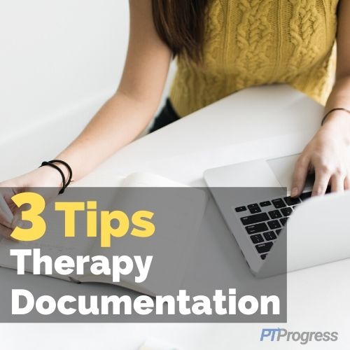 therapy assessment documentation