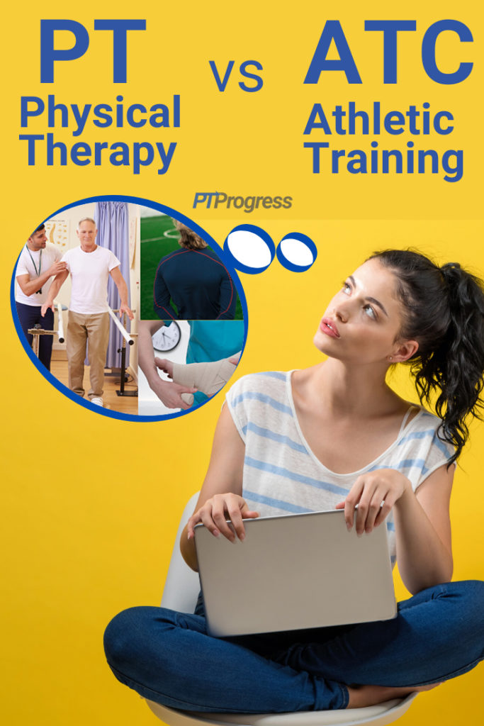 athletic training vs physical therapy