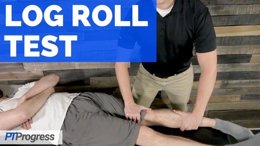 log roll test