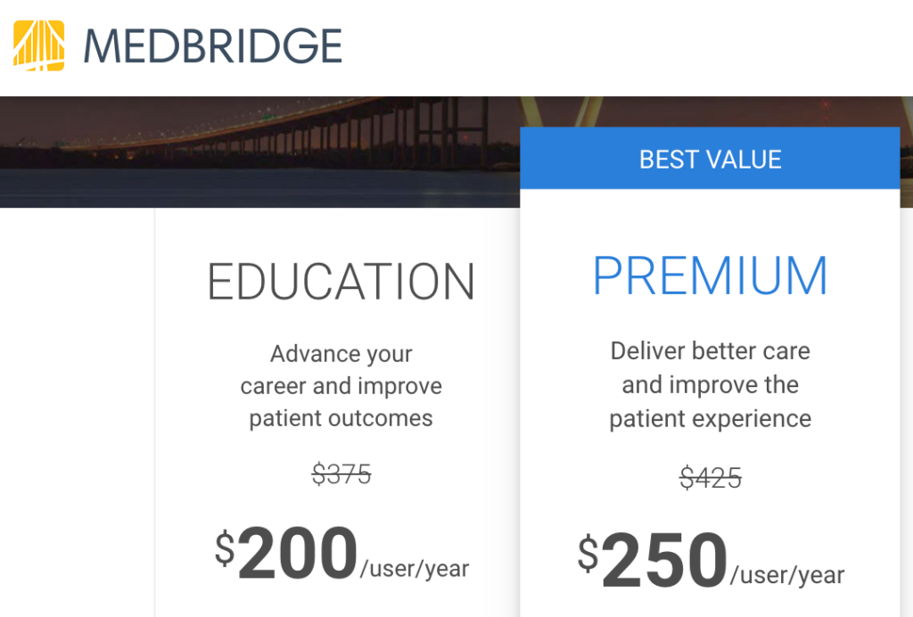 medbridge discount