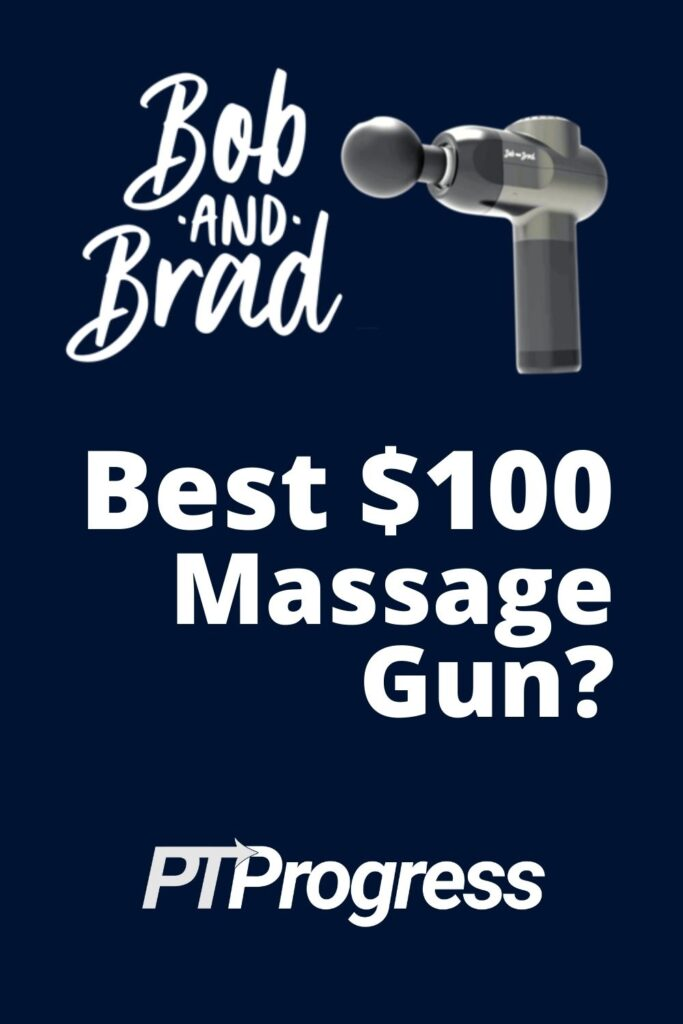 bob and brad massage gun